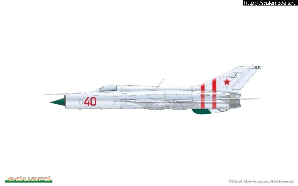 #1612336/ МиГ-21ПФ (Тип 76) Эдуарда в 72 масштабе Закрыть окно