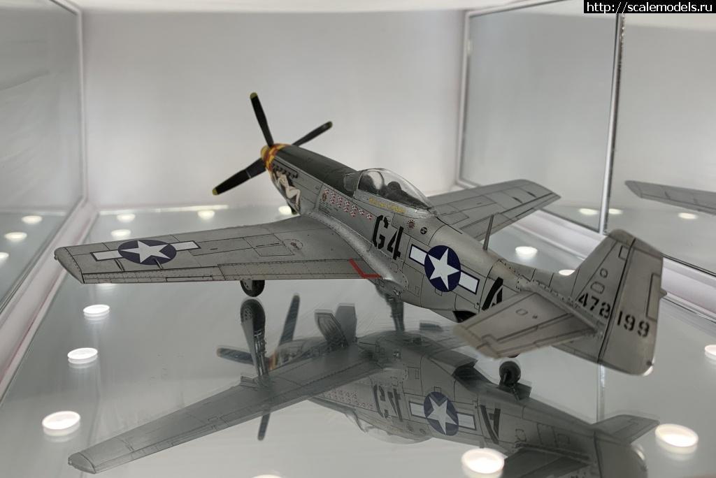 #1614025/ Tamiya 1/72 P-51D готов. Закрыть окно