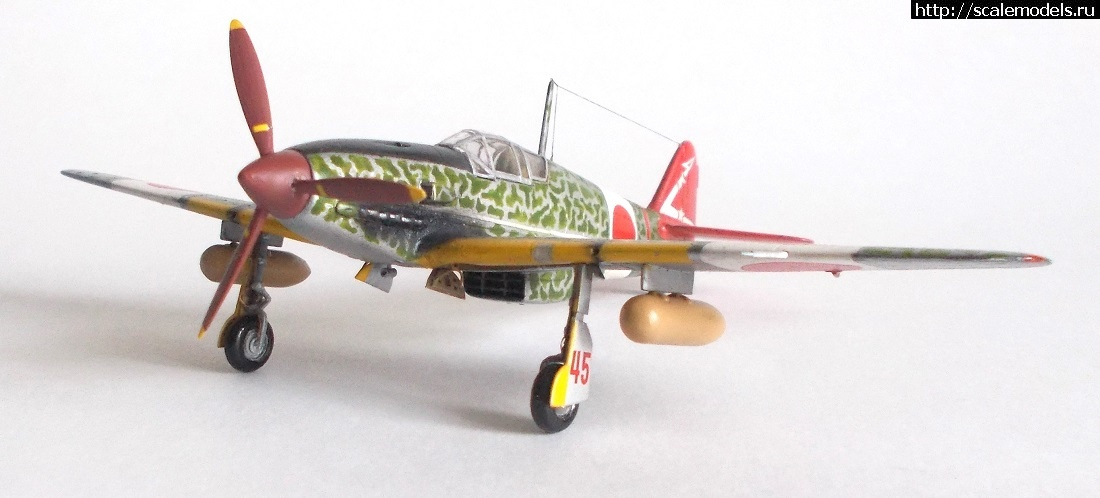 #1616176/ Kawasaki Ki-61-I Hien 1/72 готов Закрыть окно