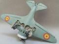Revell 1/72 И-16 тип 10. Авиашкола Морон, Испания 1948