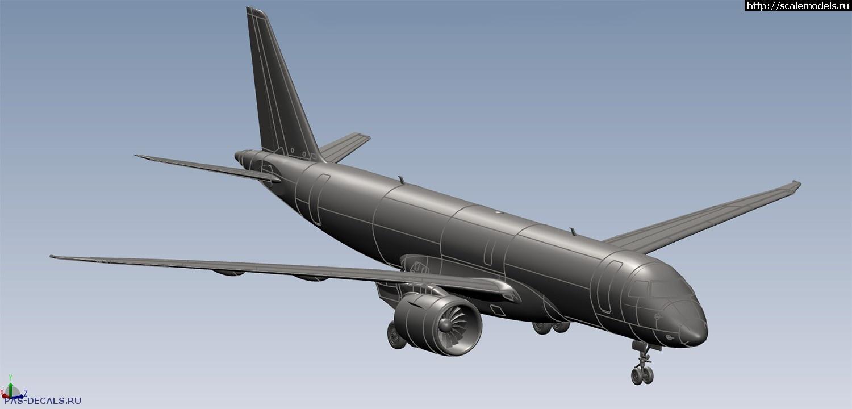 Анонс Восточный экспресс 1/144 Embraer ERJ 190-300 (E190-E2) - 3D-рендеры Закрыть окно