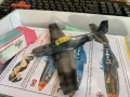 Tamiya 1/72 P-51D Mustang - Вдохновенная изкоробка