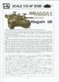 Обзор AFV Club AF35309 1/35 DF Magach 6 BAT
