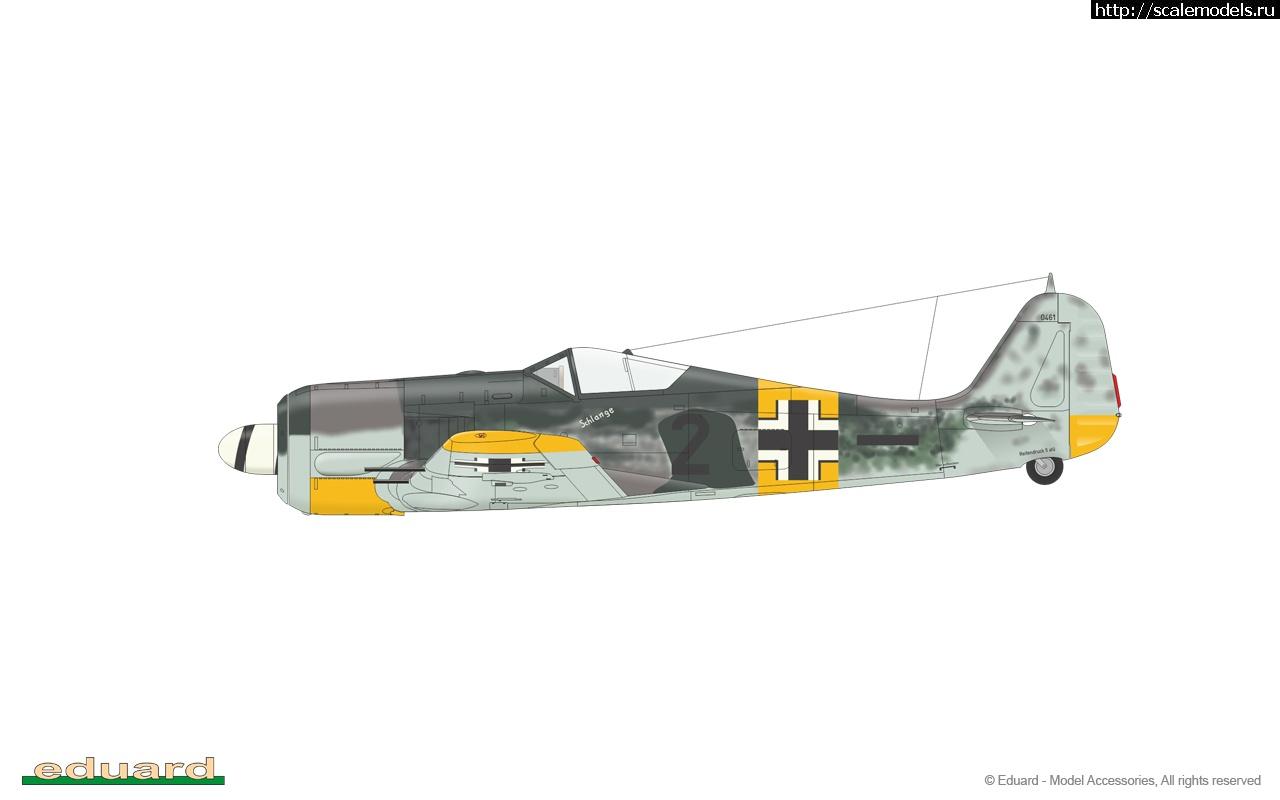 Анонс Eduard 1/48 Fw 190A-6 ProfiPack Закрыть окно