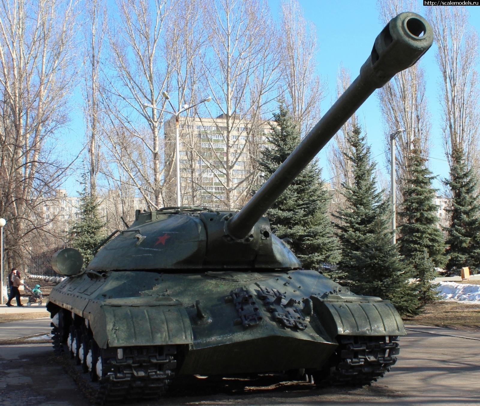 Walkaround тяжелый танк ИС-3, Парк Победы, Тольятти, Самарская область, Россия Закрыть окно