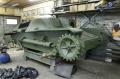 Walkaround легкий танк Type 95 Ha-Go в процессе реставрации, Музей Техники Вадима Задорожного Россия