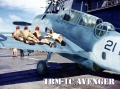 Hobbyboss 1/48 TBM-1C Avenger