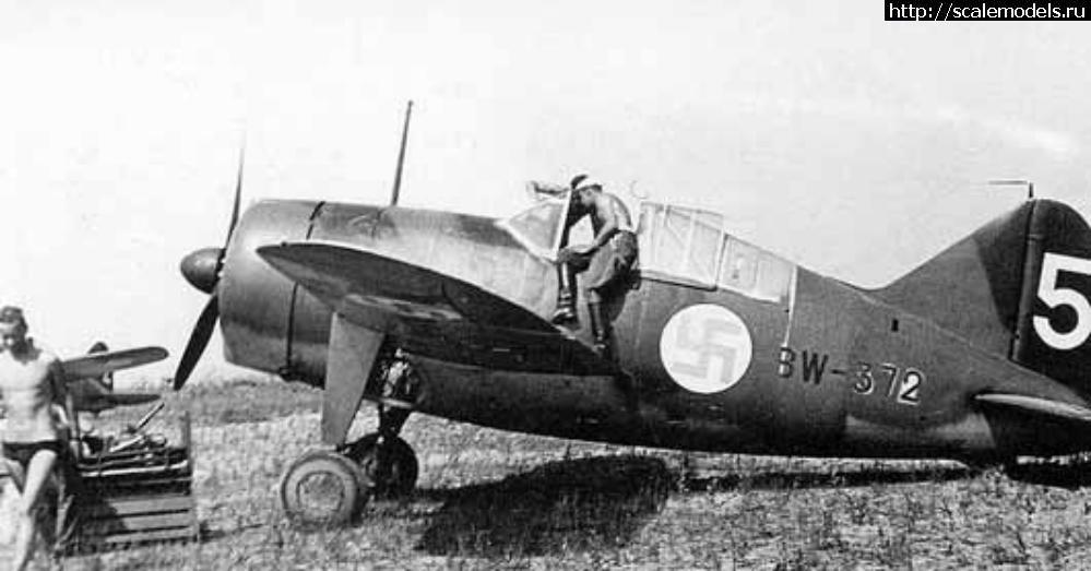 Hasegawa 1/72 Brewster B-239 - Финск...(#14394) - обсуждение Закрыть окно