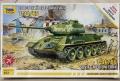 Звезда 1/72 Т-34/85