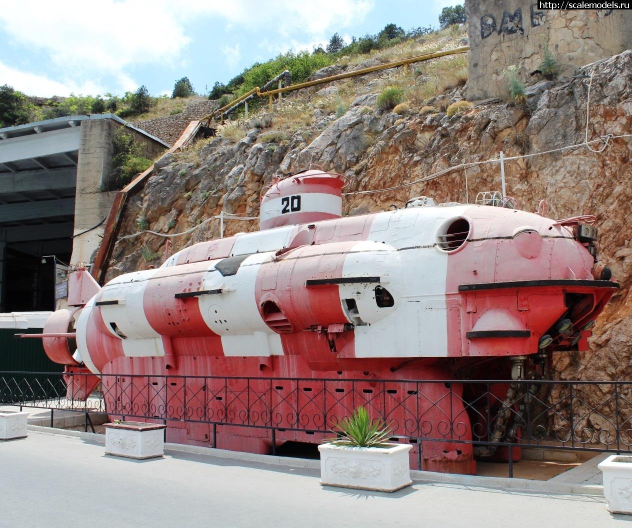 Walkaround АРС АС-20, Балаклавский подземный музейный комплекс, Балаклава, Крым, Россия Закрыть окно