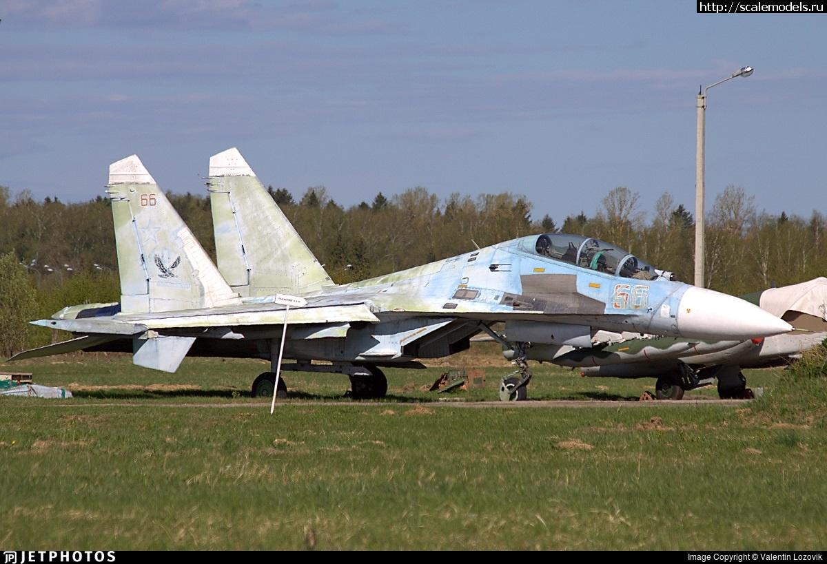#1641635/ Су-27УБ 1/48 GWH Закрыть окно