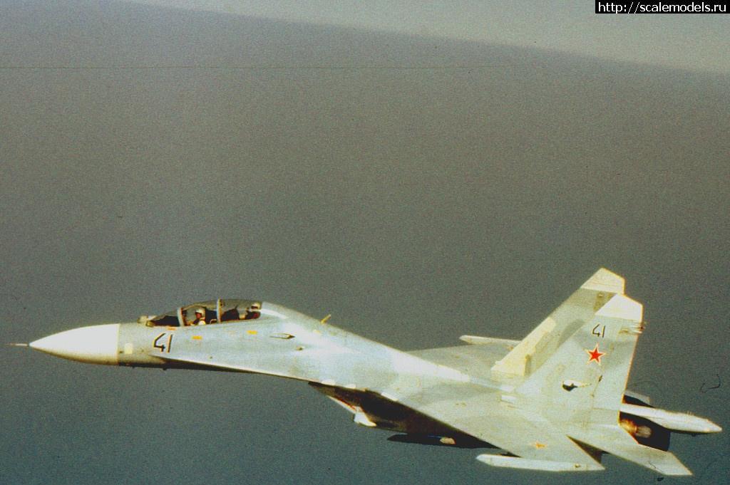 #1641709/ Су-27УБ 1/48 GWH Закрыть окно