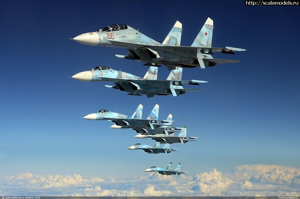 #1641751/ Су-27УБ 1/48 GWH Закрыть окно