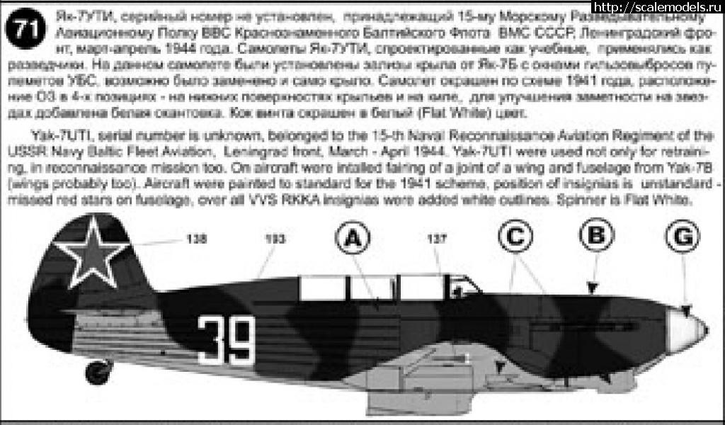#1642005/ Як-1 Brengun 1/72 лейтенанта Баранова М.Д. Закрыть окно