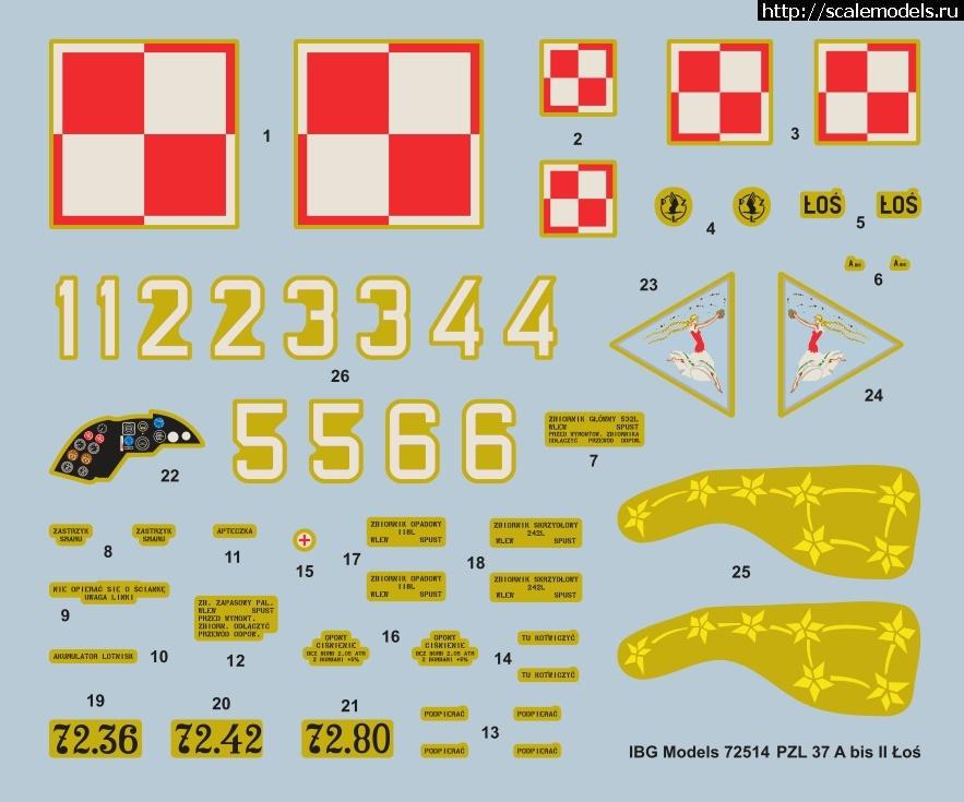 Анонс IBG Models 1/72 PZL.37 A bis II Los - 3D-рендеры/ Анонс IBG Models 1/72 PZL.37 A bis I...(#14900) - обсуждение Закрыть окно