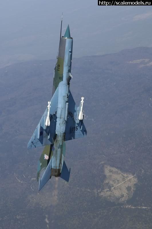#1642222/ Eduard 1/48 MiG-21bisD ВВС Хорватии(#14483) - обсуждение Закрыть окно
