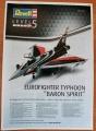 Обзор Revell 1/48 Eurofighter Typhoon Baron Spirit 03848