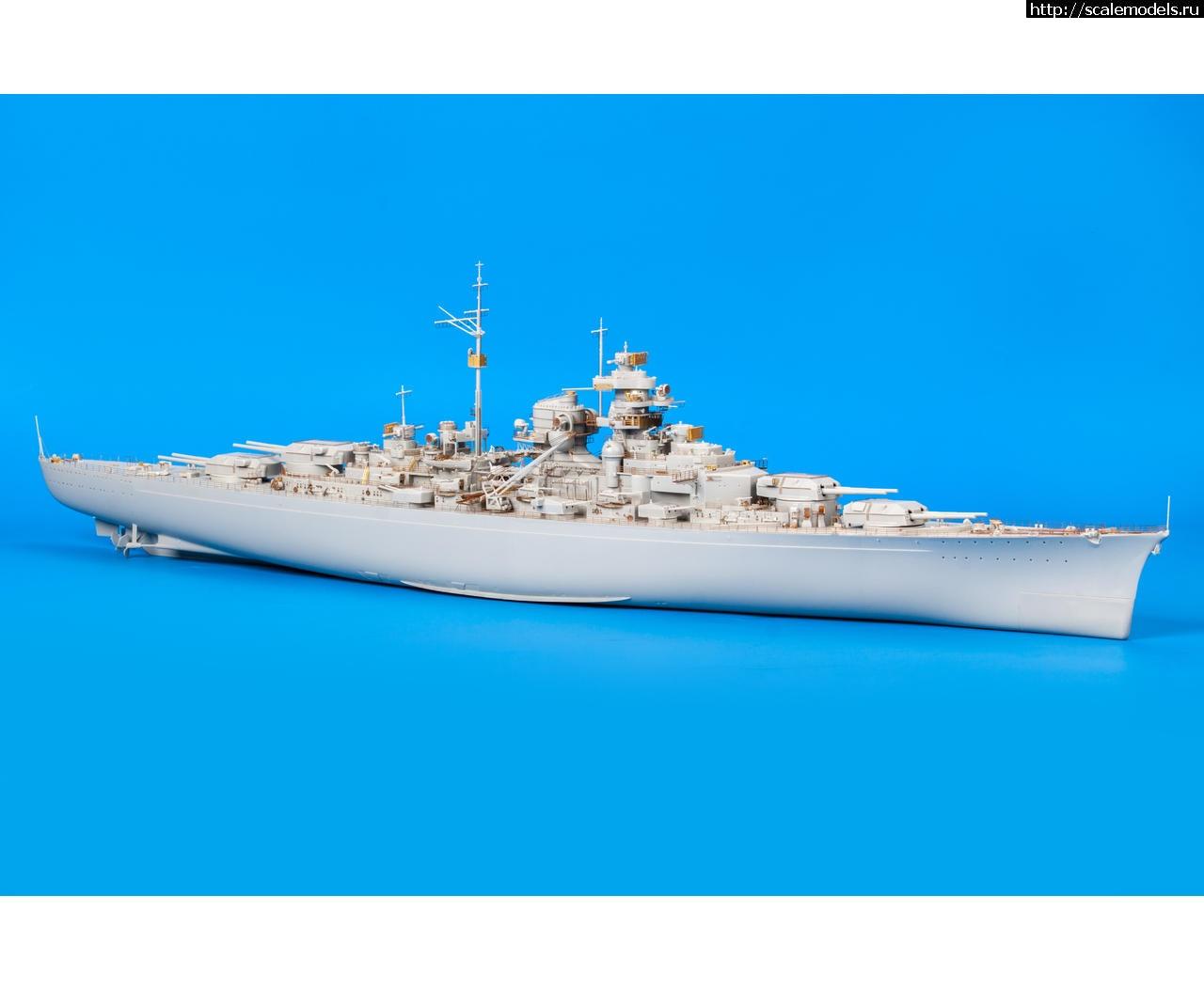 Анонс Eduard 1/350 травление для линкора Bismarck от Trumpeter Закрыть окно
