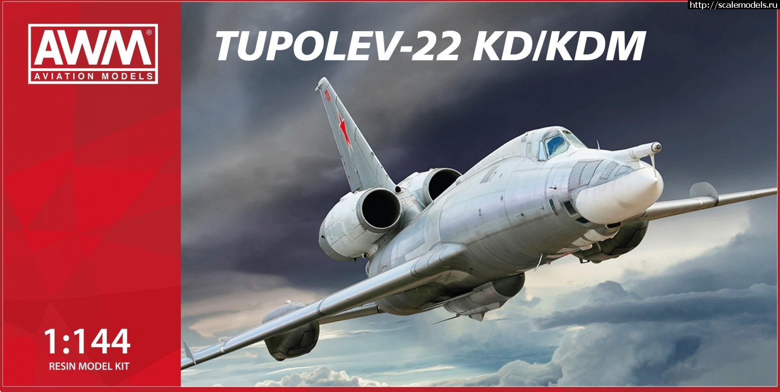 Ту-22УД и Ту-22КД(М) 1/144 AWM Закрыть окно