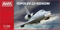 Ту-22УД и Ту-22КД(М) 1/144 AWM