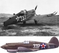 Звезда 1/72 P-40B Tomahawk (обр. 1941)