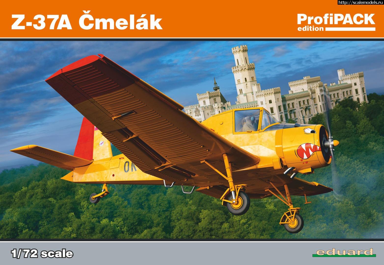 Анонс Eduard 1/72 Zlin Z-37A Cmelak ProfiPack Закрыть окно