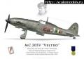 Italeri 1/72 Macchi C.205 - Итальянская борзая
