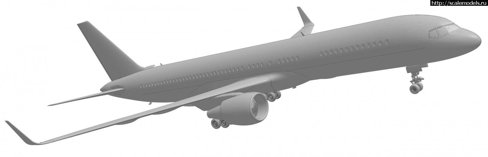 Анонс Звезда 1/144 Boeing 757-200 - 3D-рендеры Закрыть окно