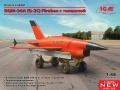 Скоро ICM 1/48 ВQM-34А (Q-2C) Firebee с тележкой