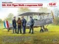 Скоро: ICM 1/32 DH. 82А Tiger Moth с кадетами RAF