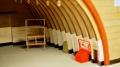 Арочное защитное укрытие для самолета 2А16 1/72