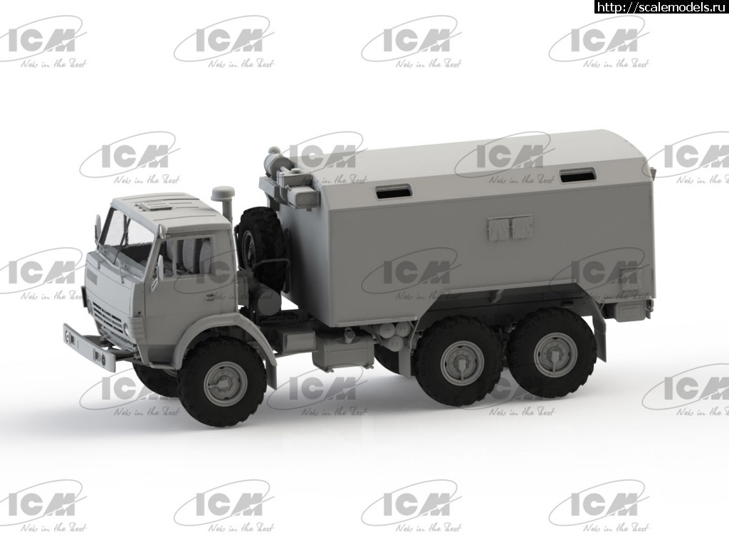 В процессе: ICM 1/35 Советский 6-колесный армейский автомобиль с закрытым кузовом Закрыть окно