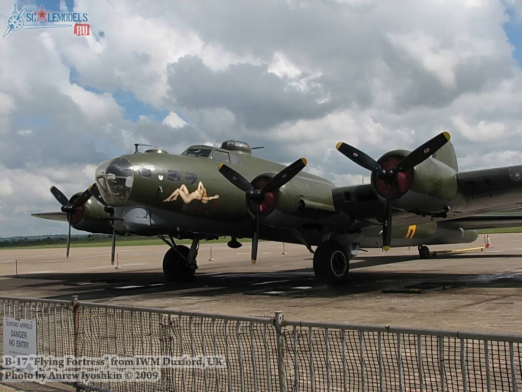 B-17 Flying Fortress (Duxford, UK) : w_b17_duxford : 16833