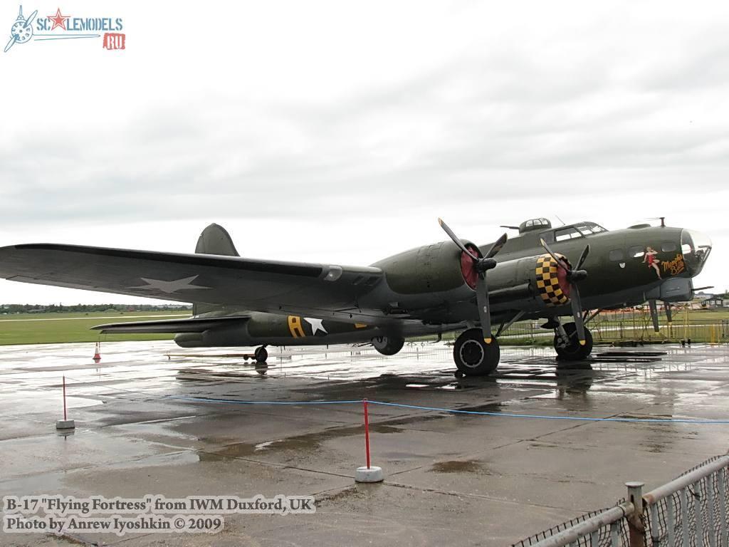 B-17 Flying Fortress (Duxford, UK) : w_b17_duxford : 16899