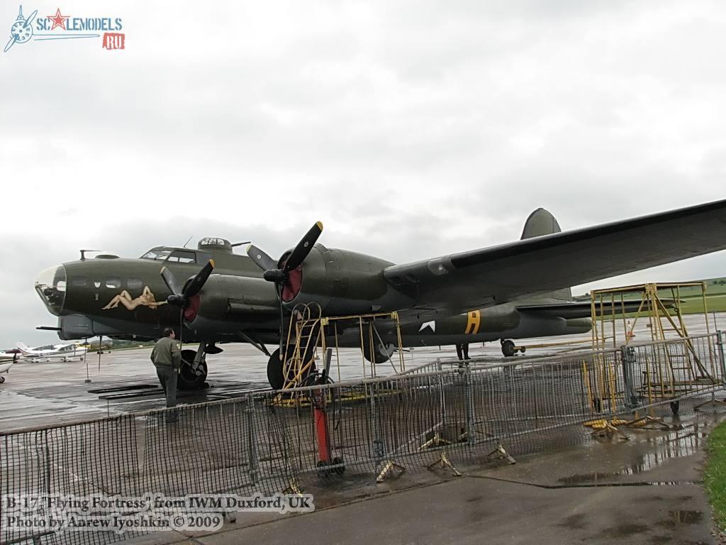 B-17 Flying Fortress (Duxford, UK) : w_b17_duxford : 16900