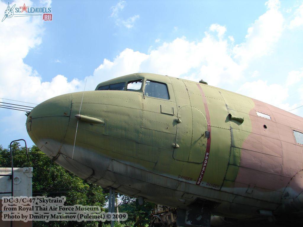DC-3/C-47 Skytrain (Royal Thai Airforce Museum) : w_dc3_thai : 21604