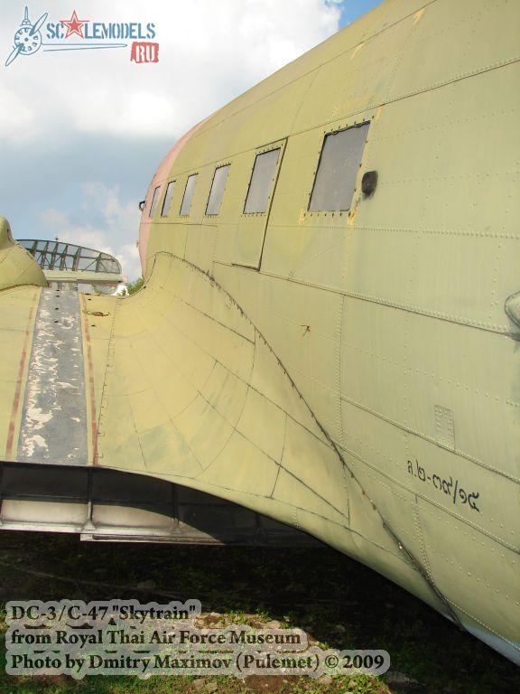 DC-3/C-47 Skytrain (Royal Thai Airforce Museum) : w_dc3_thai : 21667