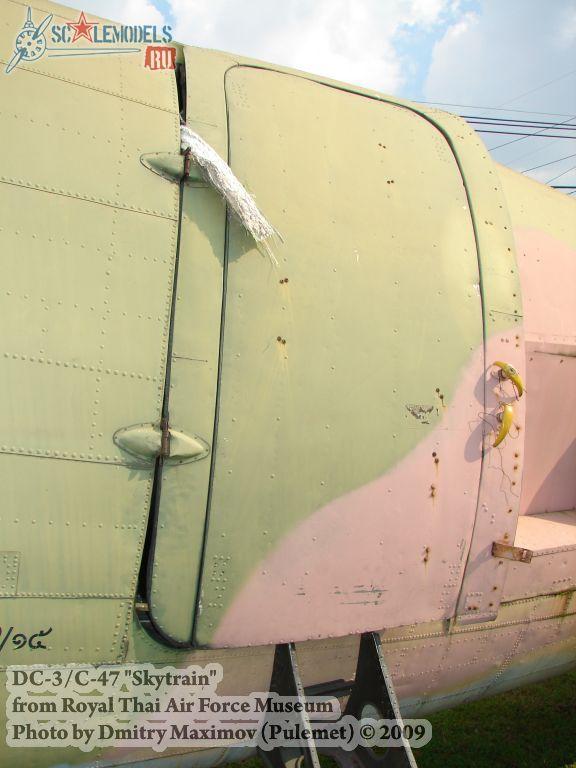 DC-3/C-47 Skytrain (Royal Thai Airforce Museum) : w_dc3_thai : 21669