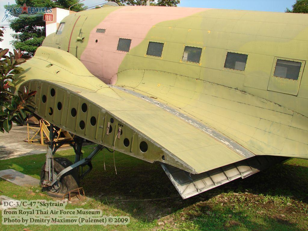 DC-3/C-47 Skytrain (Royal Thai Airforce Museum) : w_dc3_thai : 21670